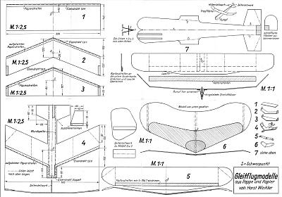 oldtimer volckmanns baupl ne fugf higer flugmodelle 13 bauplan. Black Bedroom Furniture Sets. Home Design Ideas
